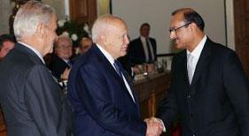 یونان: سید محمد جمیل شاہ کو صدارتی ایوارڈ سے نوازا گیا
