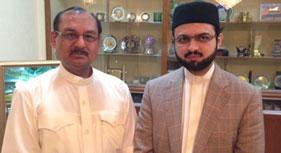 پاکستان: سید محمد جمیل شاہ کی مرکزی سیکرٹریٹ آمد