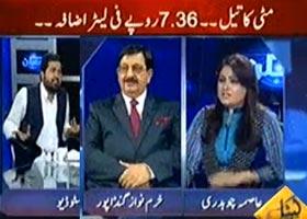 خرم نواز گنڈا پور (پی اے ٹی)کیپیٹل ٹی وی پر اسماء چوہدری کے ساتھ