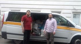 آسٹریا: منہاج ویلفیئر فاؤنڈیشن ویانا کی جانب سے شام میں دہشت گردی سے متاثرین کے لئے امداد کی روانگی