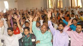 ڈسکہ: پاکستان عوامی تحریک کے زیراہتمام عزم انقلاب کنونشن