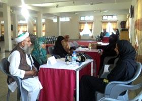 Parent-Teacher meeting held at Minhaj College for Women
