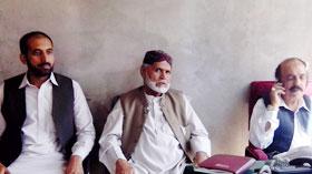 کوئٹہ: پاکستان عوامی تحریک کے رہنماؤں کی پشتون قومی تحریک کے چیئرمین سے ملاقات