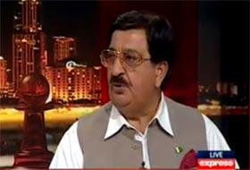 خرم نواز گنڈا پور ایکسپریس نیوز پر عمران خان کے ساتھ