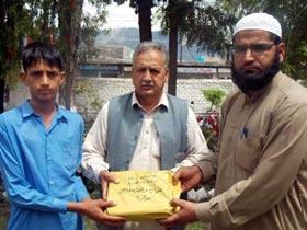 کھوئیرٹہ آزادکشمیر: MWF کی مستحق طلباء و طالبات میں نصابی کتب کی تقسیم