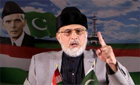 Dr Tahir-ul-Qadri's speech at PAT protest demonstrations - May 11 (10 points of revolutionary program)