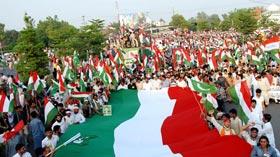 فیصل آباد: پاکستان عوامی تحریک کا کرپٹ نظام کے خلاف عوامی احتجاج (11 مئی)