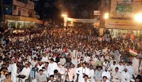 جھنگ : پاکستان عوامی تحریک کا کرپٹ نظام کے خلاف عوامی احتجاج (11 مئی)