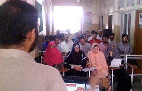 میرپور، سوشل میڈیا ٹریننگ کیمپ برائے رضاکاران