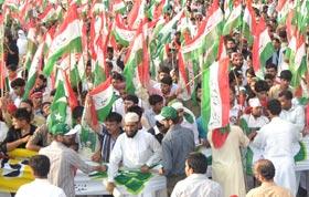 PAT (Rawalpindi) stages big demonstration on May 11