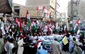 گھوٹکی : پاکستان عوامی تحریک کا کرپٹ نظام کے خلاف عوامی احتجاج (11 مئی)