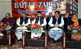 Dr Hassan Mohi-ud-Din Qadri inaugurates 5-storey building of 'Bait-uz-Zahra'