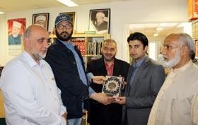 PTI کے MNA مراد سعید کا منہاج القرآن ڈنمارک کے ہیڈ کوارٹر کا دورہ