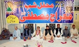 منہاج القرآن علماء کونسل کے زیراہتمام محفل معراج النبی (صلی اللہ علیہ وآلہ وسلم) کا انعقاد