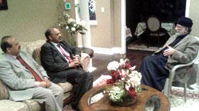 لارڈ نذیر احمد اور لارڈ قربان حسین کی ڈاکٹر طاہرالقادری سے ملاقات