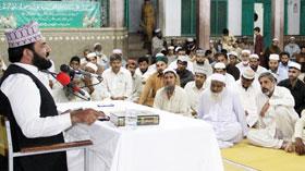تحریک منہاج القرآن کوہاٹ کے زیراہتمام محفل معراج النبی (ص) کا انعقاد