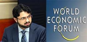 Dr Hasan Mohi-ud-Din Qadri speaks at World Economic Forum 2014