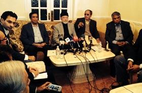 عوامی اور جمہوری انقلاب کے لیے پاکستان عوامی تحریک ۔ مسلم لیگ ق کا 10 نکاتی ایجنڈے پر اتفاق