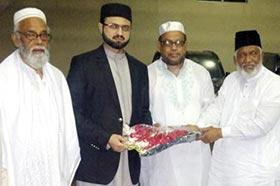 ڈاکٹر حسن محی الدین قادری کا دورہ بنگلہ دیش