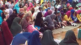 سپین: منہاج ویمن لیگ بادالونا کے زیراہتمام سالانہ محفل معراج النبی صلی اللہ علیہ وآلہ