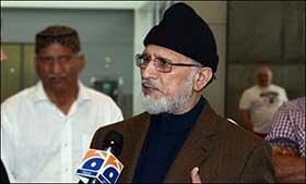 Govt. resort to violence will only hasten revolution: Qadri