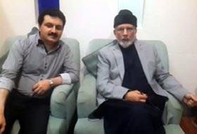 Dr. Tahir-ul-Qadri's plane lands in Dubai