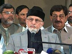 Dr Tahir-ul-Qadri declares Zarb-e-Azb operation as Jihad, announces aid for IDPs