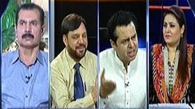 Ain ul Haq in Mumkin on capital TV (Civil Kapro Mein Hukumat Ke Gullu Batto Ne Tashadud Kiya...)
