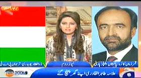 Newsroom On Geo News, Zulfiqar Choudhry PAT (Tahir-ul-Qadri Ki Watan Wapsi Aur Inqilab..??)