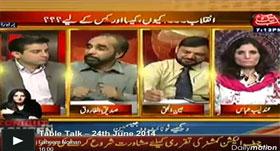 Ainul Haque (PAT) in Table Talk on Abb Takk (Inqilab......Kiyon, Kaisa Or Kis Ke Liye)