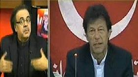 Live With Dr. Shahid Masood on News One (Kiya PTI Sath Degi)