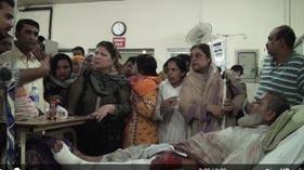 Brutal attack of Police at Minhaj-ul-Quran Secretariat - 13