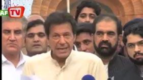 PTI Imran Khan visited Jinnah Hospital _ Minhaj ul Quran in Lahor
