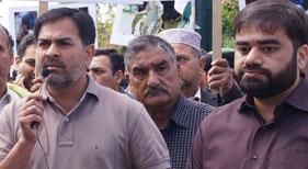 ڈنمارک: سانحہ لاہور کے خلاف پاکستانی ایمبیسی کے سامنے پاکستانی تنظیمات کااحتجاجی مظاہرہ
