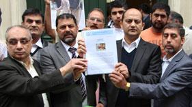 فرانس: سانحہ ماڈل ٹاؤن لاہور کے خلاف احتجاجی مظاہرہ
