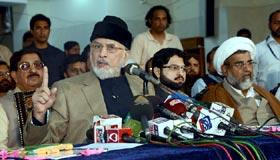 Revolution a few weeks away: Dr Tahir-ul-Qadri