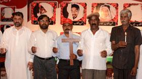 لاہور: مسیحی برادری کا شہدائے انقلاب کو خراج تحسین