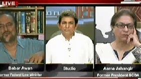 Sawal Yeh Hai on ARY News (Inqilab Kisi Se Poch Kar Nahi Aata-Aasma Jahangir)