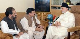 Nation to see Dr Tahir-ul-Qadri & Imran Khan together soon: Sheikh Rashid