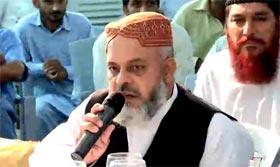 Zia-ul-Mustafa Haqqani address at APC on Model Town Incident