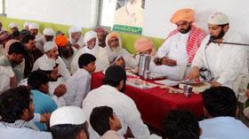 تحریک منہاج القرآن الہ آباد کے ناظم کے بھائی کی رسم چہلم
