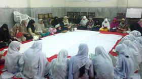 جہلم: منہاج القرآن ویمن لیگ کی سانحہ ماڈل ٹاؤن کے شہداء کے لیے قرآن خوانی