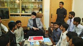 مرکزی کیبنٹ مصطفوی سٹوڈنٹس موومنٹ کی قائد انقلاب ڈاکٹر محمد طاہرالقادری سے ملاقات