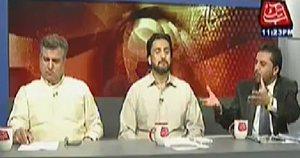 Watch Qazi Sahfeeq (PAT), Daniyal Aziz (PML-N), Shehryar Afridi (PTI) in Table Talk – 9th July 2014