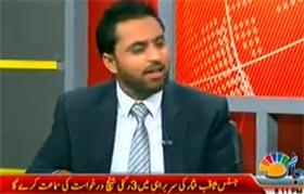 قاضی شفیق سعدیہ افضال کے ساتھ جاگ ٹی وی پر (ڈاکٹر طاہرالقادری کی اسلام آباد آمد)