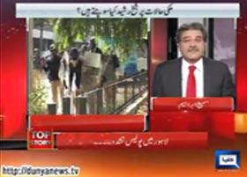 دنیا نیوز: پروگرام ٹاپ سٹوری (لاہور میں پولیس گردی، جمہوریت آخر کہاں ہے)