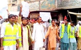 راجن پور: سانحہ ماڈل ٹاؤن کی ایف آئی آر درج نہ ہونے پر پاکستان عوامی تحریک کا احتجاجی مظاہرہ