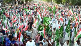 سانحہ ماڈل ٹاؤن کے ایک ماہ مکمل ہونے پر پاکستان عوامی تحریک کی ملک گیر احتجاجی ریلیاں