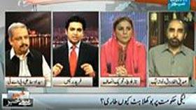 ڈان نیوز: سید اوسط پروگرام خبر سے خبر میں (حکومت بوکھلاہٹ کا شکار کیوں)
