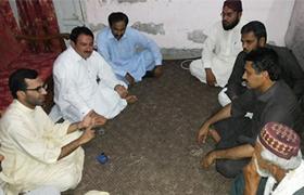 مظفر گڑھ: پاکستان عوامی تحریک ملتان کے وفد کی جمشید دستی سے ملاقات